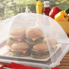 Netted Food Tent Cover- Great for Parties, BBQ & Picnics. Protects Food,NET