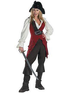 25159c8caa Elizabeth Deluxe Pirates of The Caribbean One Size 14 - 16 Ladies Costume
