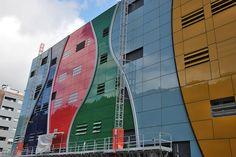 Fachada ventilada - Proiek - Hospital Alto Deba by proiek, via Flickr