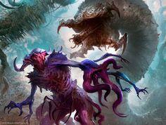 Broodhunter Worm – Magic the Gathering concept by Svetlin Velinov