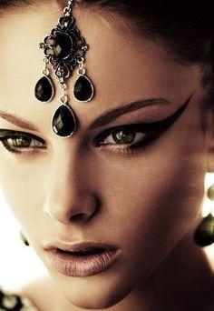 Institute magazine editorial makeup eyeliner