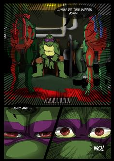 TMNT (fanmade) Same as it never was Aftershock _4 by FleshCreature on DeviantArt