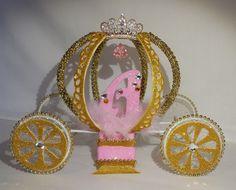 Carro de Cenicienta de la torta quinceañera por DollyDollz en Etsy