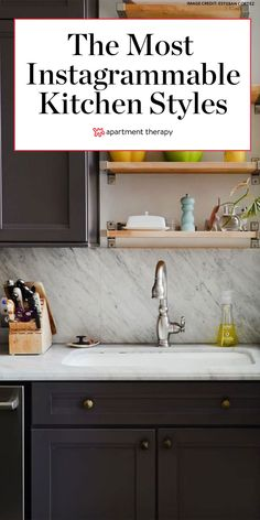 The company analyzed over 500,000 Instagram posts uploaded from users in the United States to see which decor trends are the most popular in 2020, and these are the most Instagrammable kitchen trends. #kitchenideas #kitchentrends #designtrends #interiors #interiordesign #dreamkitchen #kitchendecor Kitchen Trends, Kitchen Ideas, Kitchen Decor, Preschool Assessment, Wren Kitchen, Homemade Dinner Rolls, First Kitchen, Black Kitchens, Diy Doll