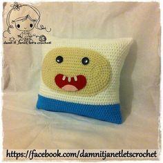 Finn the Human Pillow ~ intermediate level ~ CROCHET