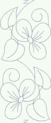 Bordado flores