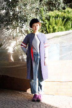 ストリートスナップ | 竹中佑衣 | Dot+LIM 美容師アシスタント | 南青山 (東京)