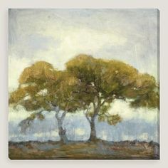Oaks in the Mist III by Kim Coulter