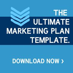 The Ultimate Marketing Plan Template. (In Powerpoint)