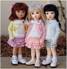 a repin of Iplehouse child dolls