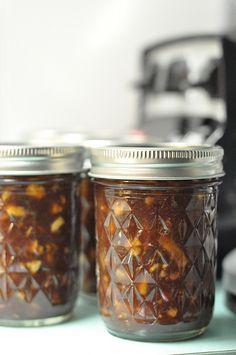 Charoses-inspired jam for Passover.