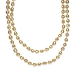 Pre-Owned Chanel Pearl Long Necklace ($2,260) ❤ liked on Polyvore featuring jewelry, necklaces, ivory, multi layer necklace, long knot necklace, multi coloured necklace, multi color pearl necklace and multi layer pearl necklace
