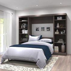 Bestar Pur V Storage Unit Murphy Wall Bed - 26893-47