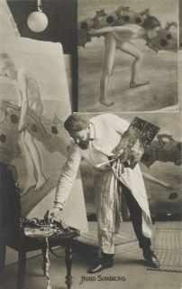 Hugo Simberg painting fresco
