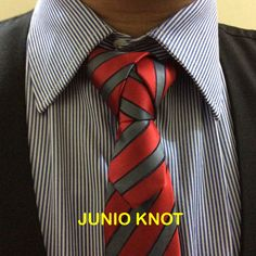 Junio Knot created by Noel Junio. It is a combination of two knots: The Capsule and the Bonney Knot.