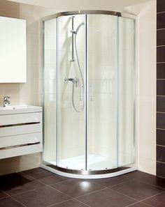 Sprchový kout T-Silent čtvrtkruh 100 cm