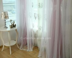 Wholesale Patterned Punching Eyelet Curtains Girls Bedroom Romantic Princess, Pink Shower Curtains, Pink Showers, Princess Room, Blackout Curtains, Drapery, Girls Bedroom, Room Decor, Pure Products