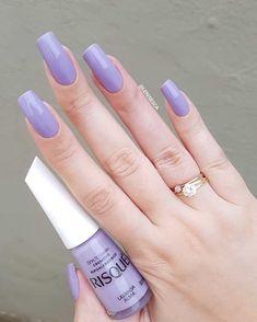 CLIQUE NA IMAGEM e veja curso profissional como fazer alongamento de unhas com técnica de fibra de vidro. Curso completo COM SUPORTE e tudo o que precisar para ser expert em alongamento de unhas com fibra de vidro. Gel Uv Nails, Nails Polish, Best Acrylic Nails, Purple Nails, Manicure And Pedicure, Manicure Ideas, Love Nails, Pretty Nails, Nagel Gel