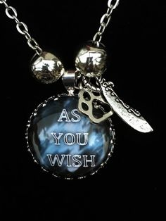 Kate Daniels Series Necklace  As You Wish by AlteredXpressions, $28.00