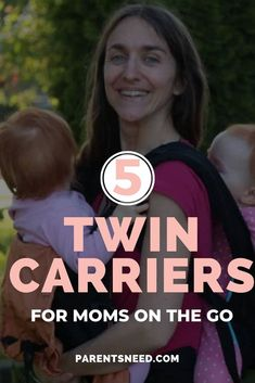 Looking for the best baby carrier for your twins? We review the best twin carriers on the market and give you our best buying tips. #newborn #twins #baby Twin Carrier, Best Baby Carrier, Newborn Care, Newborn Twins, Infant Care, Baby Twins, Good Parenting, Parenting Hacks, Best Tandem Stroller