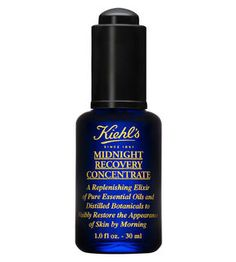 Midnight Recovery Concentrate A replenishing nighttime facial oil with distilled botanicals that visibly restores the appearance of skin by morning. $46