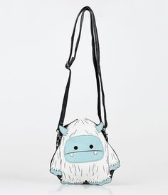 Yeti Vinyl Crossbody Handbag