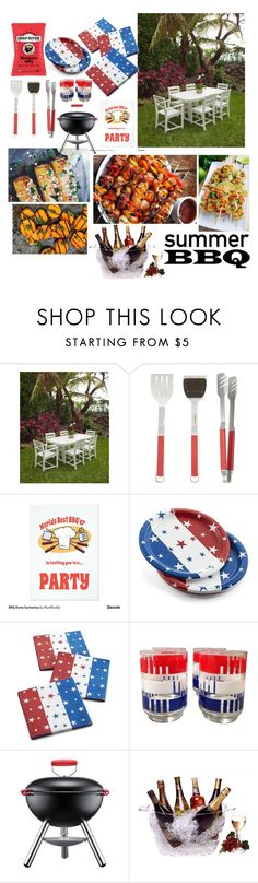 """Summer BBQ"" by reinaghezzawi ❤ liked on Polyvore featuring interior, interiors, interior design, home, home decor, interior decorating, Crate and Barrel, Bodum, Prodyne and summerbbq"