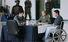 Stargate SG-1 : Photo Amanda Tapping, Ben Browder, Michael Shanks