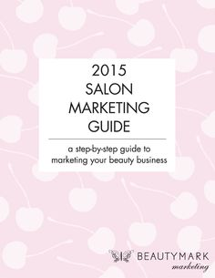 Click here to get your FREE Editable Salon Marketing Calendar - a step by step guide to marketing your beauty business #salonmarketingguide