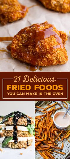 21 Delicious Snacks You Should Bake Instead of Fry
