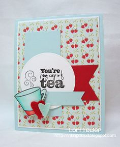 Card by Lori Tecler using Better with You from Verve.  #vervestamps