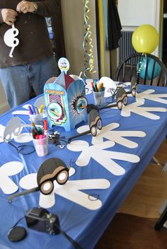Make your own Aquabat! The Aquabats supershow Birthday!