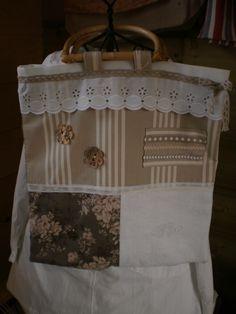 RegFiqDub/ sac toile tissu toile à matelas dentelle et boutons