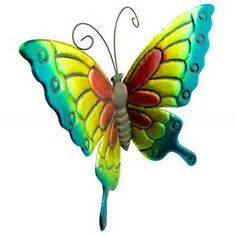 large metal butterfly yard art - Bing images