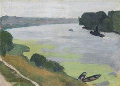 La Seine à Herblay by Albert Marquet