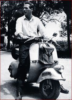 Vip with a Vespa: Paul Newman <3