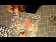 Never ending card tutorial, part 2. Decorating card. Christie has the best tutorial for making this card! http://creationsbychristie.blogspot.com/2010/10/never-ending-card-video-tutorial.html