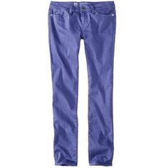 Mossimo® Women's Skinny Premium Denim (Fit 4) - Target- $28.  Colored jeans that fit!  Got Blue, Coral, and greyish purple. Skinny Girls, Blue Skinny Jeans, Budget Fashion, Fit 4, Diy Clothing, Colored Jeans, New Outfits, Looks Great, That Look