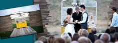 home made wedding chapel