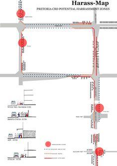 Pretoria, Line Chart, Diagram, Map, Architecture, Location Map, Maps
