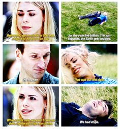 The Doctor and Rose's first date *sappy smile* Rose And The Doctor, I Am The Doctor, Ninth Doctor, Rose Tyler, Guardians Of The Universe, Tv Doctors, Classic Series, Torchwood, David Tennant