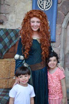 Con la princesa Valiente una de las peliculas que mas le gusto a mi mami