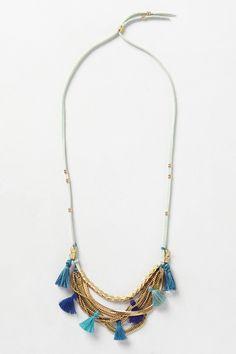Tassel Swing Necklace - anthropologie.com