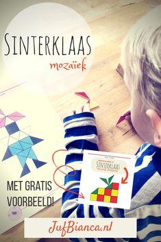 Voor het linkfeestje maakte ik een set met 10 Sinterklaas mozaïek voorbeelden. Eén voorbeeld is gratis te downloaden. Bezoek ook de andere sites!- Lespakket