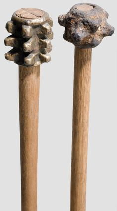 Two German Maces 14th Century