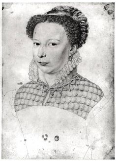 François Clouet - Marguerite of Valois (1553-1615) 1568