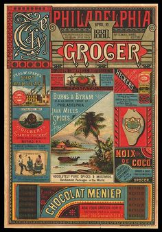 Advertising supplement from 1880: sweet typography (via Boing Boing)