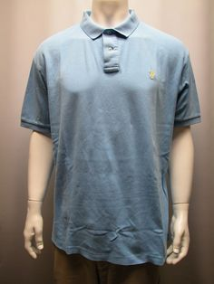 Polo Ralph Lauren Blue Men's  Polo Shirt Sz XXL Pony Logo Soft Cotton #RalphLauren #PoloGolf