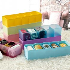 Candy Color Multifunction Plastic Storage Box     Tag a friend who would love this!     FREE Shipping Worldwide     Get it here ---> https://www.accessory.sg/candy-color-multifunction-plastic-desktop-and-drawer-storage-box-office-organizer-box-26-76-68-3cm/    #women