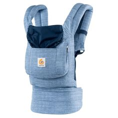 Vintage Blue Baby Carrier - Ergobaby